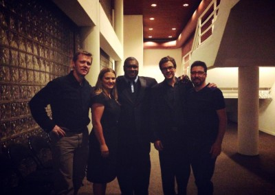 After playing a show with Wycliffe Gordon