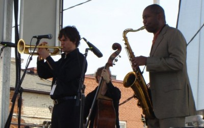 Jamming with Branford Marsalis
