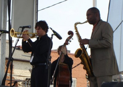 Jamming with Branford Marsalis