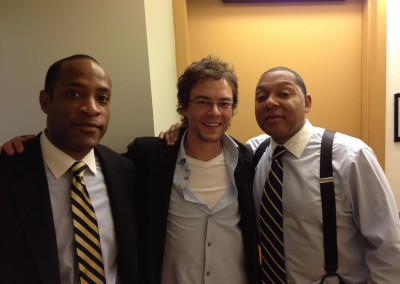 Hanging with Walter Blanding Jr and Wynton Marsalis